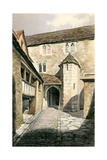 Reconstruction of Unidentified Building Giclee Print by Peter Jackson