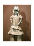 Haniwa Figure Representing a Warrior Giclee Print