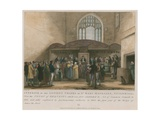Interior of the Ancient Chapel of St Mary Magdelene, Guildhall Giclee Print by George Jones