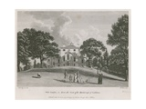 West Combe, in Kent, the Seat of the Marchioness of Lothian Giclee Print by Paul Sandby