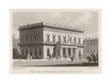 The New Athenaeum, Waterloo Place, London Giclee Print by Thomas Hosmer Shepherd