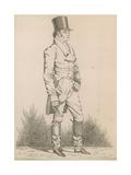 Unidentified Gentleman Giclee Print by Richard Dighton