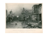 Gunpowder Plot; the Conspirators' Last Stand at Holbeach House, 7 November 1605 Giclee Print by Ernest Crofts