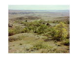 Sacred Bear Butte Mountain, South Dakota (General View), Where Men Still Undertake Sweat-Lodge… Giclee Print