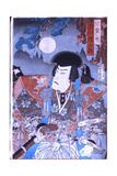 Samurai Ethics Were Portrayed in the Kabuki Theatre and in Prints Drawn from Kabuki Such as This… Giclee Print
