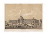 The International Exhibition of 1862 Giclee Print by Charles Riviere