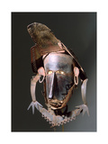 Torres Straits Dance Mask Made from Thin Sheets of Tortoise Shell Sewn Together with Palm Fibres Giclee Print