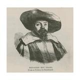 Menasseh Ben Israel Giclee Print by  Rembrandt van Rijn