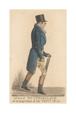 John Fane, 10th Earl of Westmoreland Giclee Print by Richard Dighton