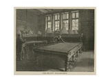 The Imperial Institute: the Fellows' Billiard Room Giclee Print