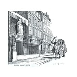 Queen Anne's Gate, London Giclee Print by Peter Jackson