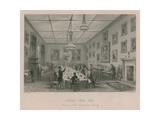 Thatched House Club, Dinner of the Dilettante Society Giclee Print by Thomas Hosmer Shepherd