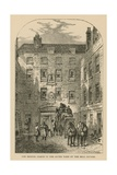 The Bristol Coach in the Outer Yard of the Bell Savage, London Giclee Print by William Henry Prior