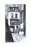 The Old Watch House in Strand Lane Giclee Print by Peter Jackson