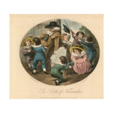 The Fifth of November Giclee Print by Thomas Stothard