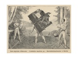 The Exploits of Hercules - the Athletic Apollon at Reichshallen Theatre, Berlin Giclee Print