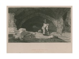 Interior of Fleet Ditch at the Back of Field Lane Giclee Print by James Archer