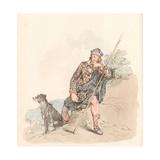Highland Shepherd Giclee Print