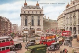 Piccadilly Circus, London Photographic Print