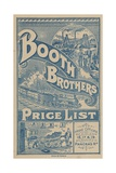 Booth Brothers, Coal Suppliers Giclee Print