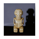 Small Ivory Tiki Figure, Probably a Pendant Giclee Print