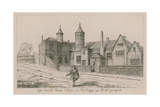 The Brooke House, Clopton in Hackney, the South Aspect Giclee Print by Wenceslaus Hollar