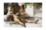 After the Bacchanal, 1898 Giclee Print by Robert Richter