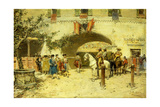 Entering the Arena Giclee Print by Jose Benlliure Y Gil