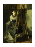 The Young Pupil; La Jeune Eleve, C.1870 Giclee Print by Eva Gonzales