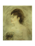 Jeune Femme Decolletee, 1882 Giclee Print by Edouard Manet