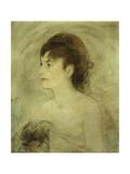 Jeune Femme Decolletee, 1882 Giclee Print by Edouard Manet