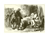 Washington on His Death-Bed Giclee Print