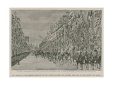 The Imperial Institute: Her Majesty Passing Down Queen's Gate on Her Way to the Opening Ceremony,… Giclee Print