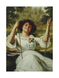 Full Swing Giclee Print by Edwin Thomas Roberts