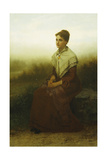 Reverie, 1878 Giclee Print by John George Brown