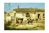 A Spanish Farm Giclee Print by Jose Benlliure Y Gil