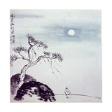 Painting by Ch'I Pai-Shih: 'Walk on a Windy Night' Giclee Print