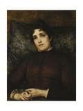 Portrait of Mrs. Frank D. Millet, 1886 Giclee Print by Sir Lawrence Alma-Tadema