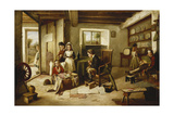 Horspittal for Woonded Solgers Home from Egipt, 1886 Giclee Print by Charles Hunt