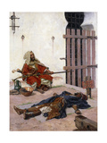 The Prisoner, 1894 Giclee Print by Antonio Maria Fabres y Costa