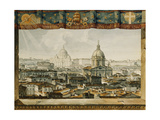 Rome from the Trinita Dei Monti Giclee Print by Charles Robert Cockerell