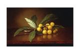 Tropical Plums Giclee Print by Martin Johnson Heade