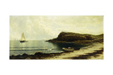 Along the Shore Giclée-tryk af Alfred Thompson Bricher