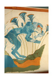 "The ""Blue Monkey"" Fresco from the ""House of the Frescoes"" Giclee Print"