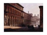 The Ca' Grande in the Via Festa Del Perdona, with S, 1842 Giclee Print by Luigi Premazzi