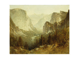 Hunting in Yosemite, 1890 Giclee Print by Thomas Hill