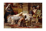 The Favourite of the Harem Giclee Print by Gyula Tornai