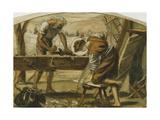 The Carpenter Giclee Print by Arthur Hughes
