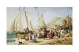 A Day Trip, Ramsgate, 1854 Giclee Print by William Parrott