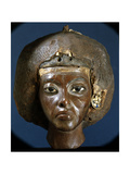 The Head of Queen Tiye, Wife of Amenophis III and Mother of Akhenaten Giclée-Druck